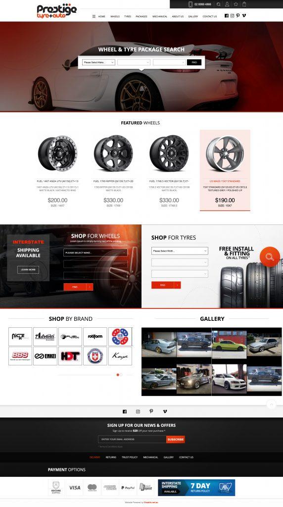 Prestige Tyre and auto